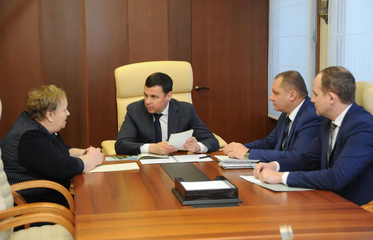 Дмитрий Миронов: «Здание бассейна в Пречистом уже построено»