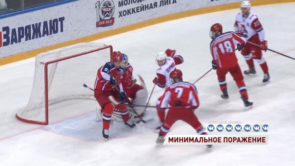 «Локо» в повторном матче уступил «Красной Армии»