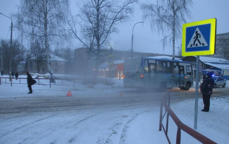 В Рыбинске под колеса ПАЗа попала 82-летняя пенсионерка