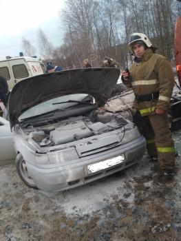 В Рыбинске десятка влетала в «КАМАЗ»