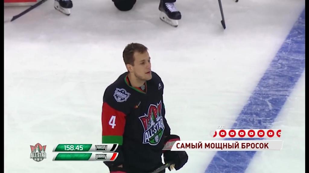 Защитник «Локомотива» стал победителем конкурса на самый мощный бросок на Матче Звезд КХЛ