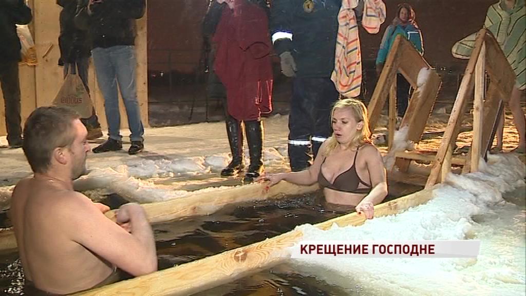 Как ярославцы отметили Крещение: репортаж из Толги