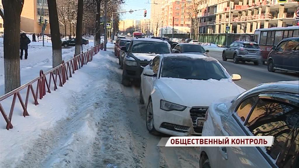 Общественники проверили качество уборки дорог от снега