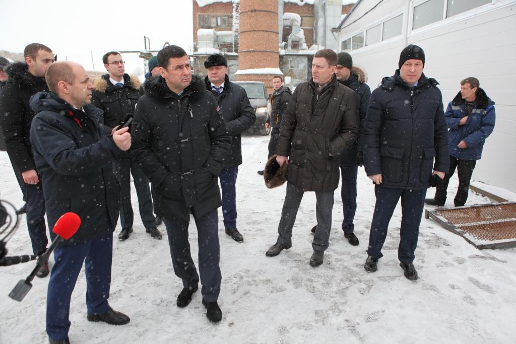 Дмитрий Миронов приехал в Мокеиху проверить, как работает новая котельная