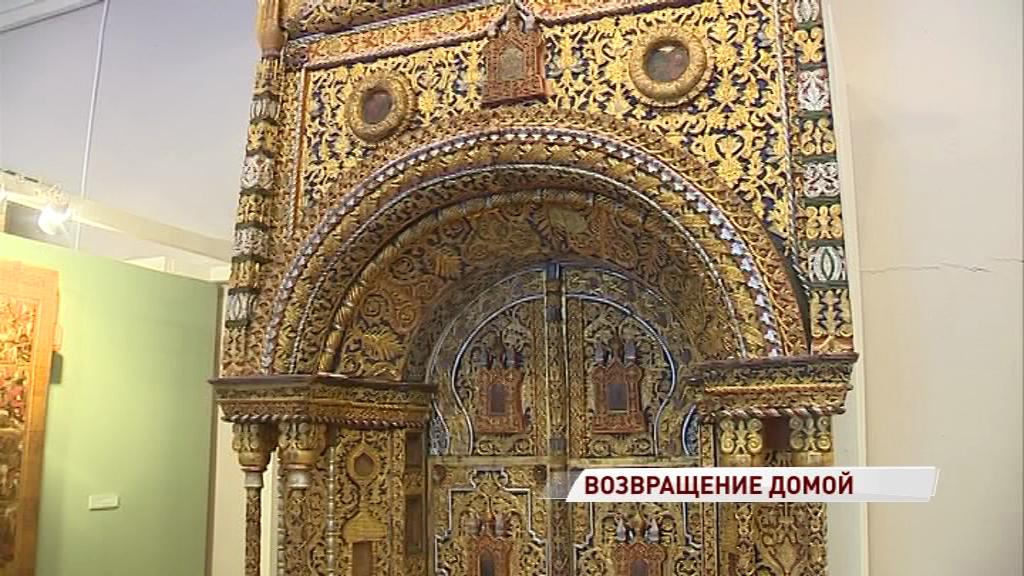 «Царские врата» вернулись с двухлетней реставрации