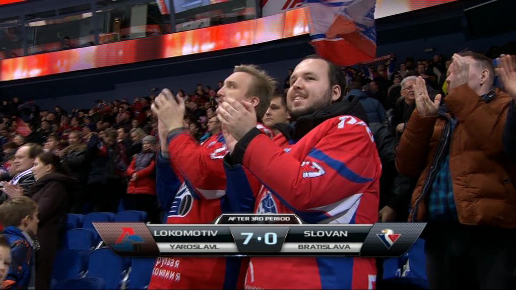«Локомотив» разгромил «Слован» и гарантировал себе место в плей-офф