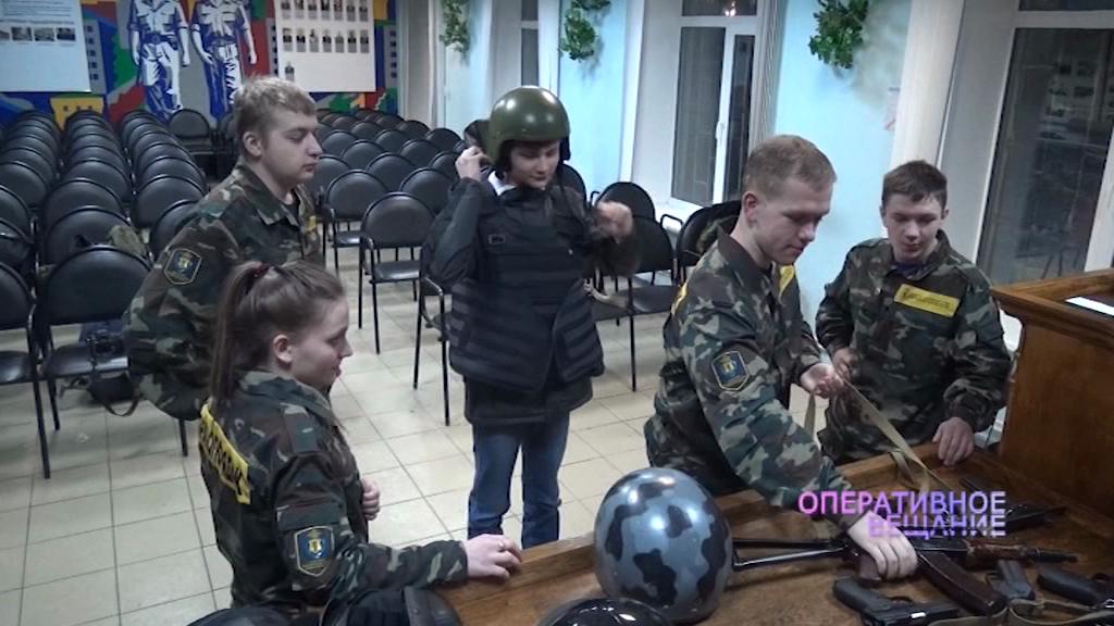 Ярославские студенты попробовали себя в роли полицейских