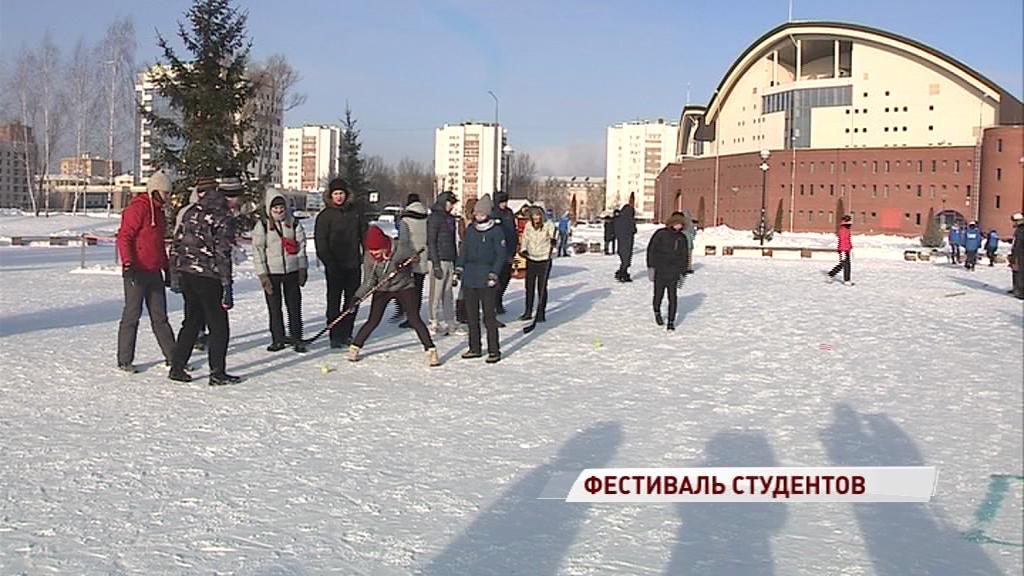 «Никакой пощады, только агрессия и победа»: студенты поборолись за спортивный кубок