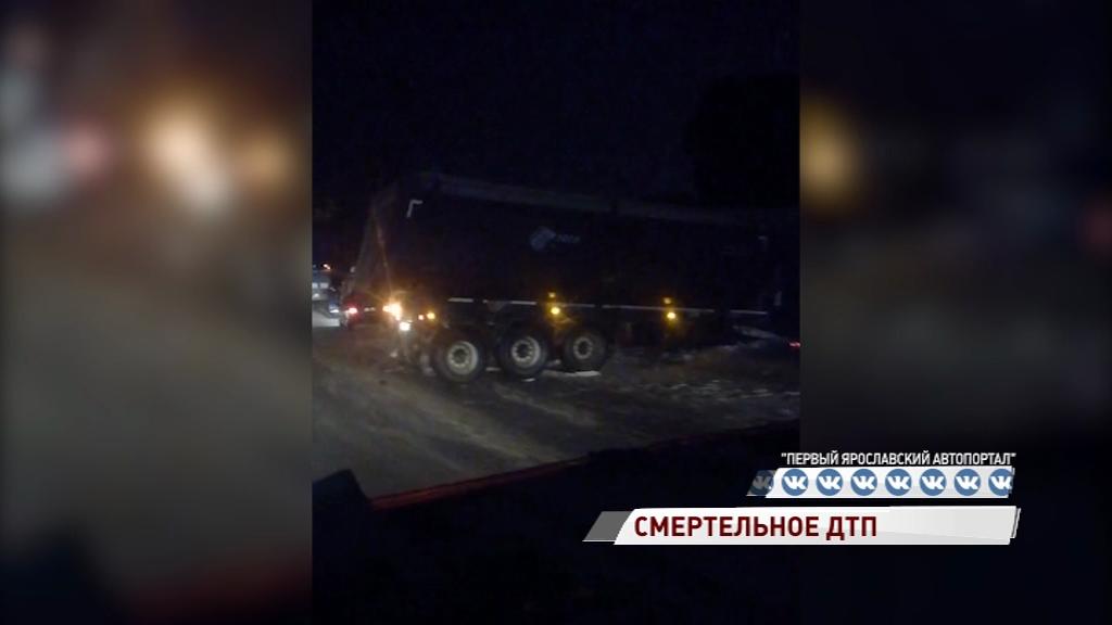 Смертельное ДТП в Переславле: столкнулись фура и легковушка