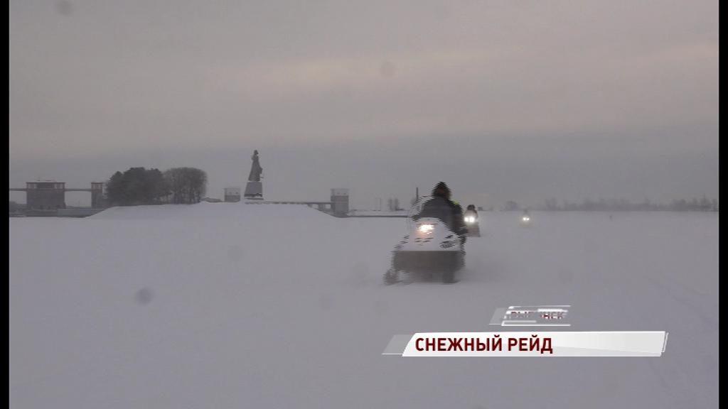 В Рыбинске прошла операция «Снегоход»