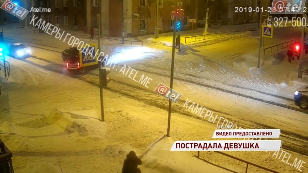 20-летняя девушка получила травмы в ДТП в Рыбинске