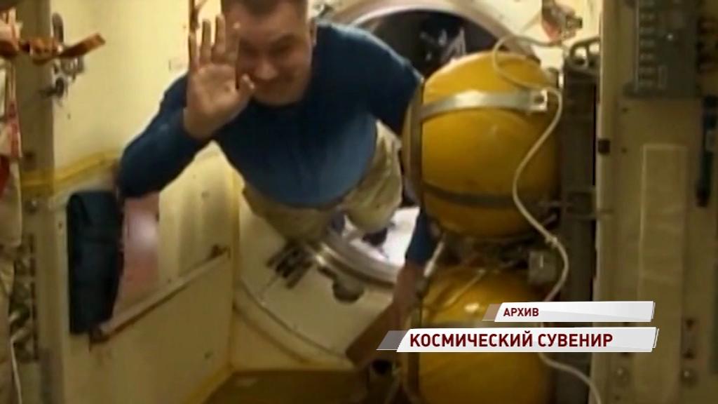 Рыбинцы выбирают сувенир, с которым Овчинин полетит на МКС