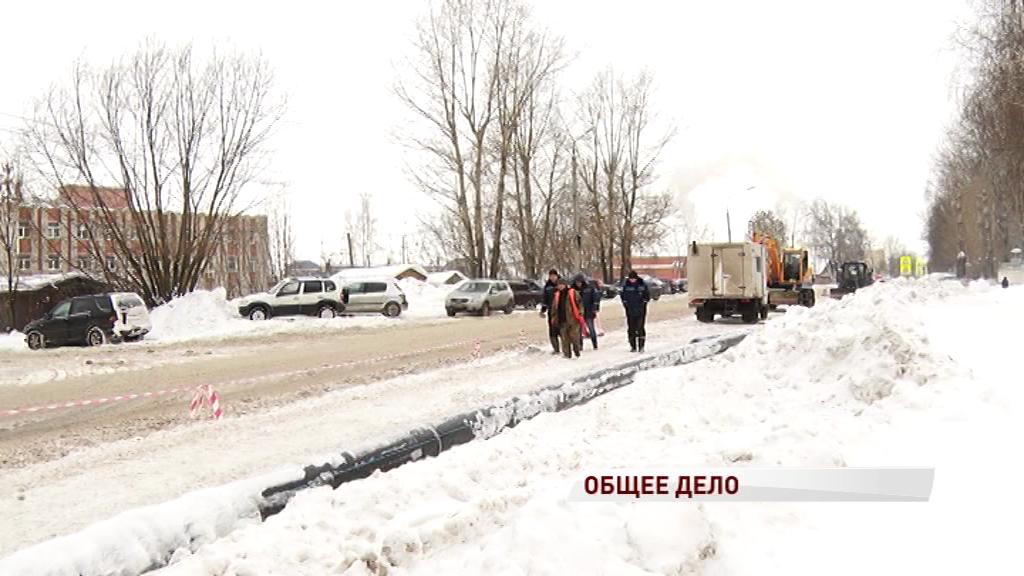Регион готовится к большому ремонту дорог: водоканал начал замену труб