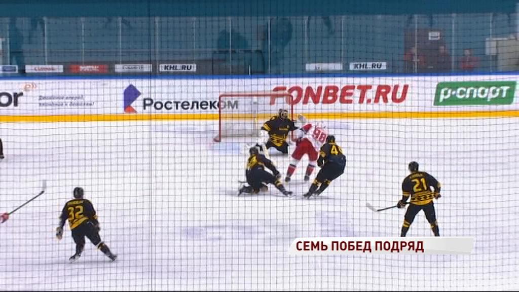 «Локомотив» продолжает громить соперников: на этот раз победа над «Северсталью»