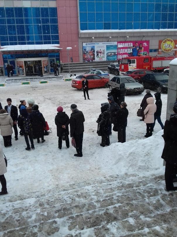 В Ярославле опять эвакуация: людей вывели из ТЦ