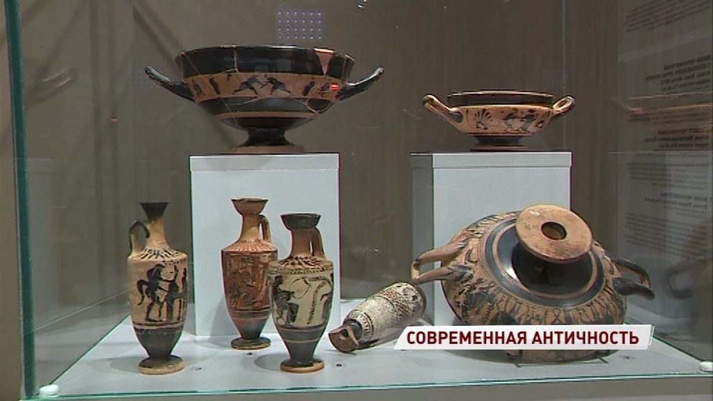 В Ярославль впервые приехали античные вазы из собрания исторического музея
