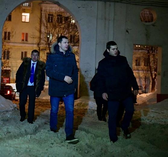 Мэр Ярославля вызвал директора управдома в нечищеный двор