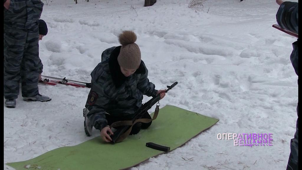 Юные полицейские четыре дня соревновались в военно-прикладных видах спорта