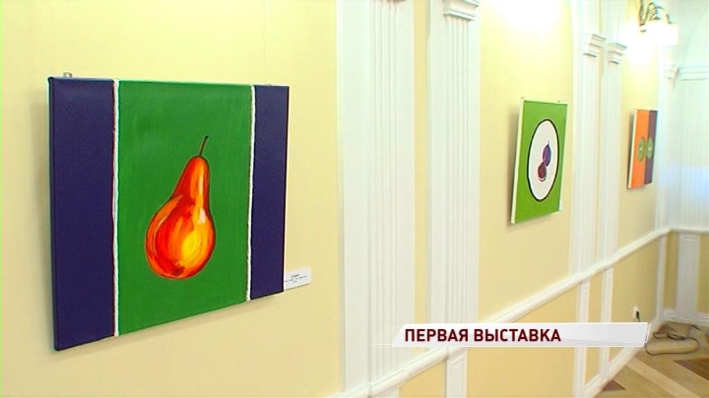 В фойе Волковского театра открылась выставка работ Ирины Кондрашовой
