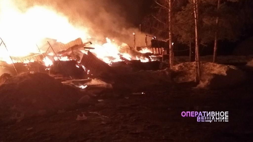 Пожар уничтожил культурный центр под Переславлем