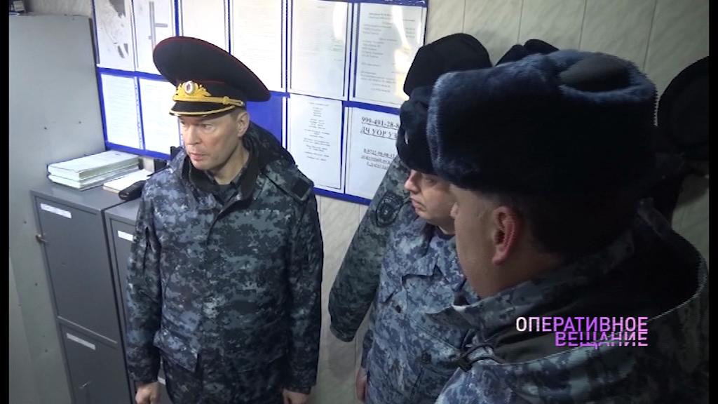 Андрей Липилин проверил работу ярославских полицейских в Дагестане