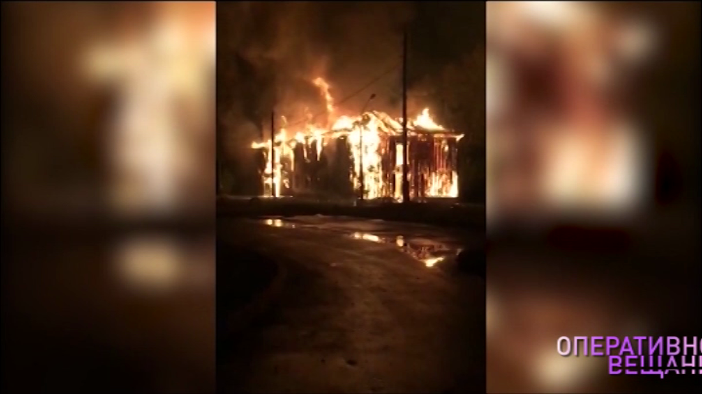 В Ярославле опять горели расселенные постройки