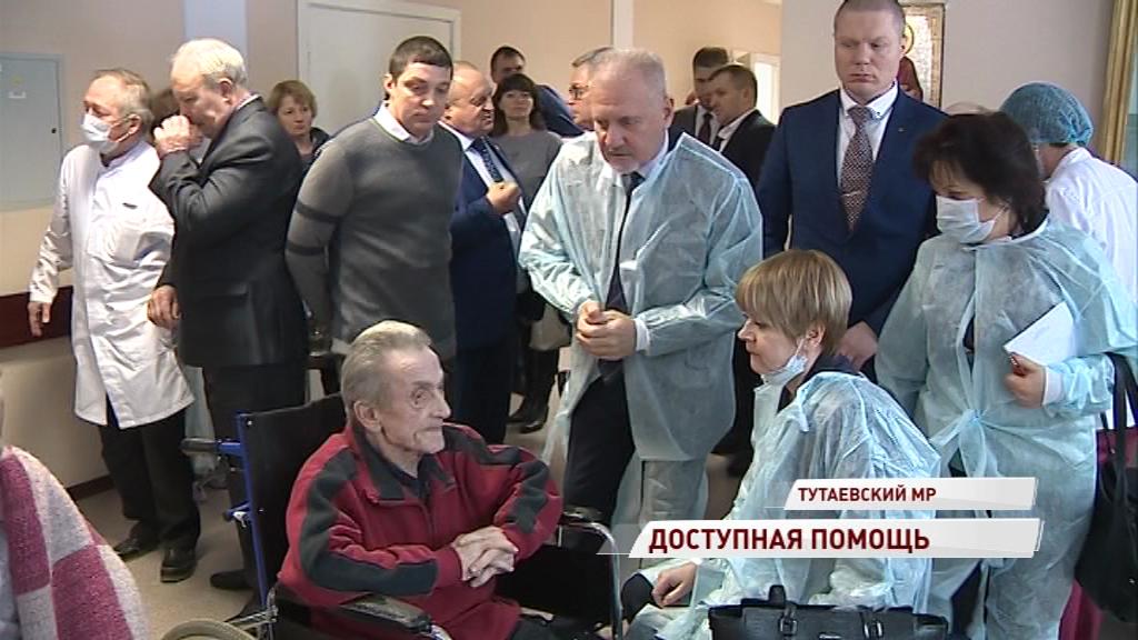 Комиссия посетила отделение паллиативной помощи в Константиновском
