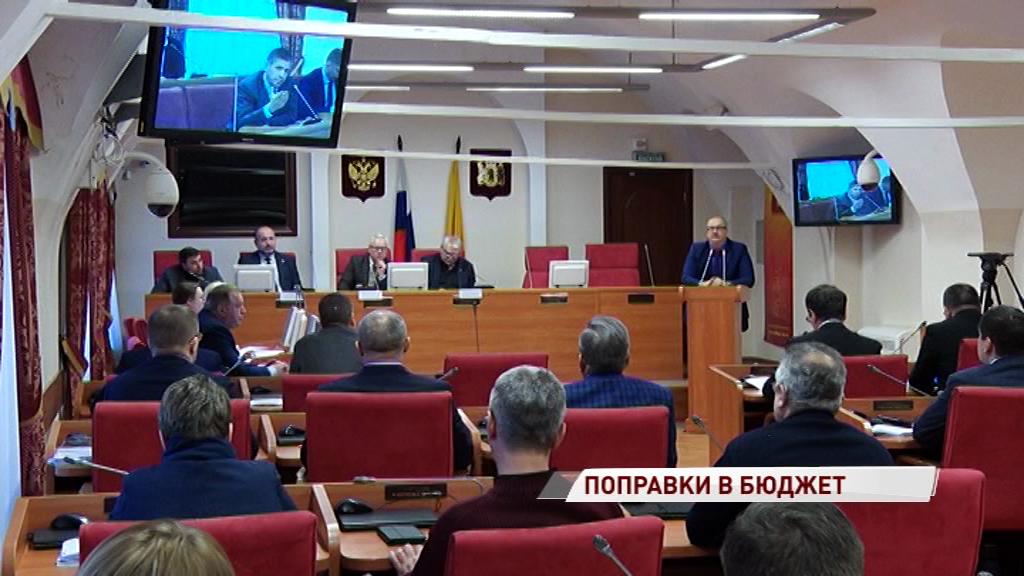 Депутаты облдумы обсудили поправки в бюджет региона на 2019-й год