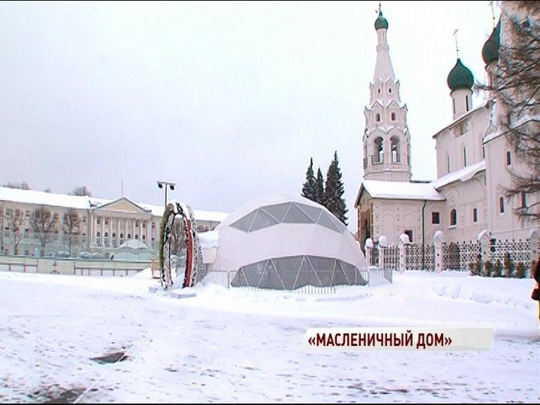 На Советской площади поставят Масленичный дом