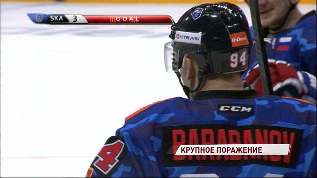«Локомотив» всухую проиграл СКА в предпоследнем матче «регулярки»