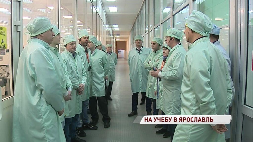 Ярославский радиозавод посетили специалисты ведущих высокотехнологичных предприятий России