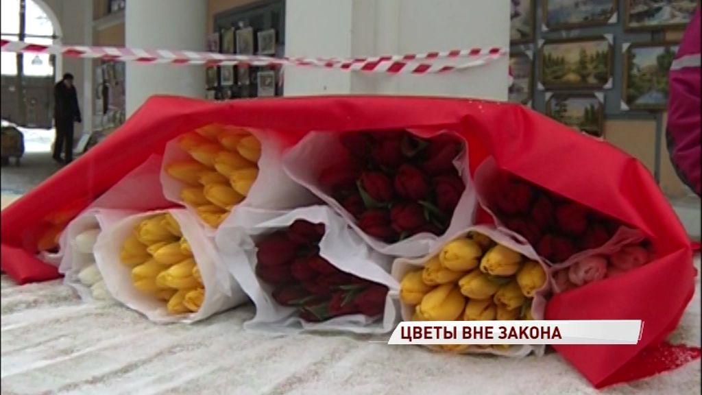 В Ярославле запретят нелегально торговать цветами
