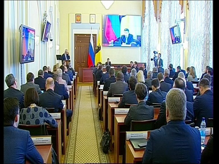 Заседание правительство Ярославской области от 20.02.19
