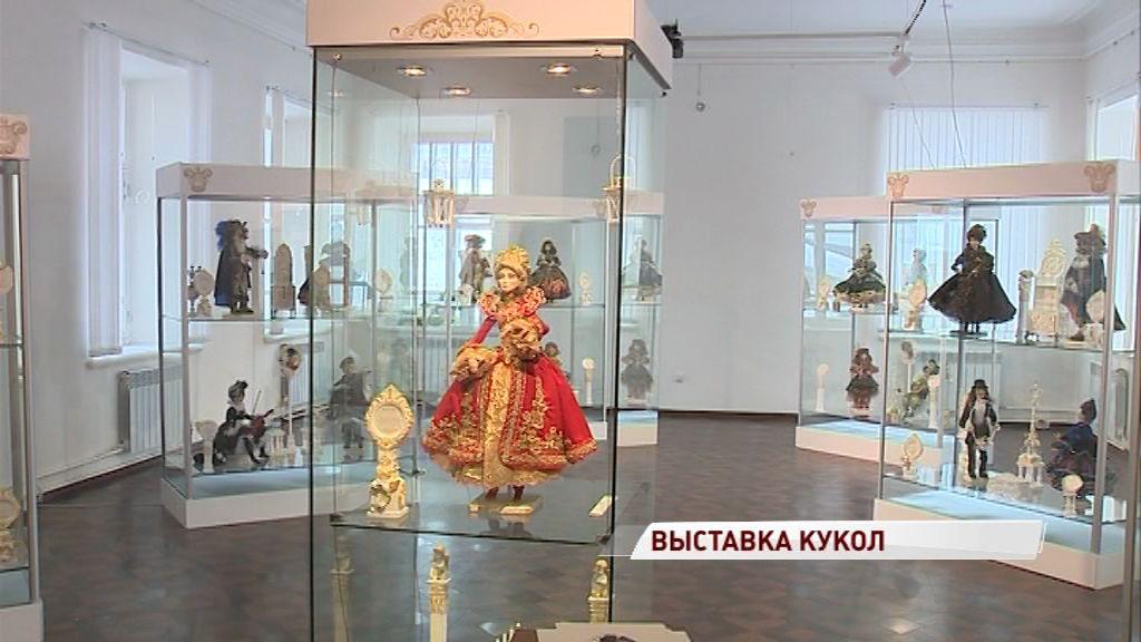 Уникальные авторские куклы покажут в Ярославле