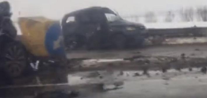 На трассе М-8 серьезная авария: есть жертвы