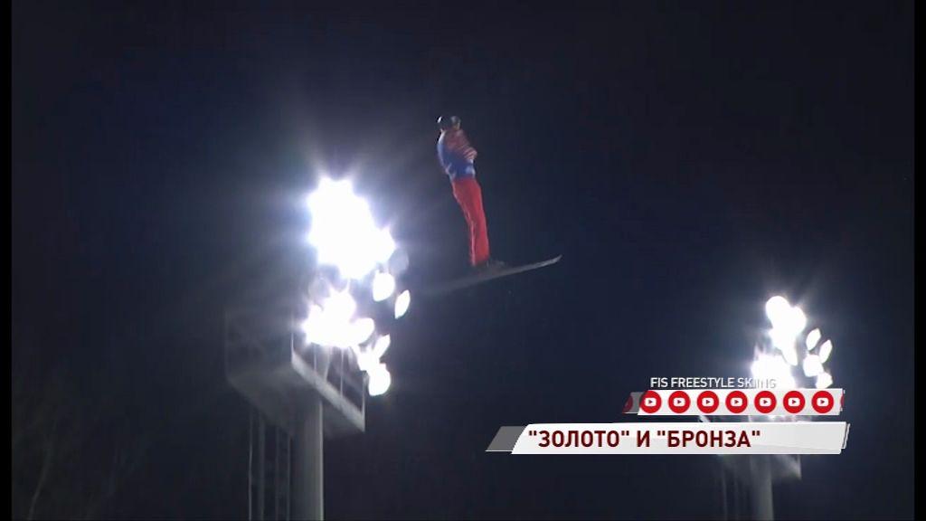Максим Буров одержал победу на этапе Кубка мира