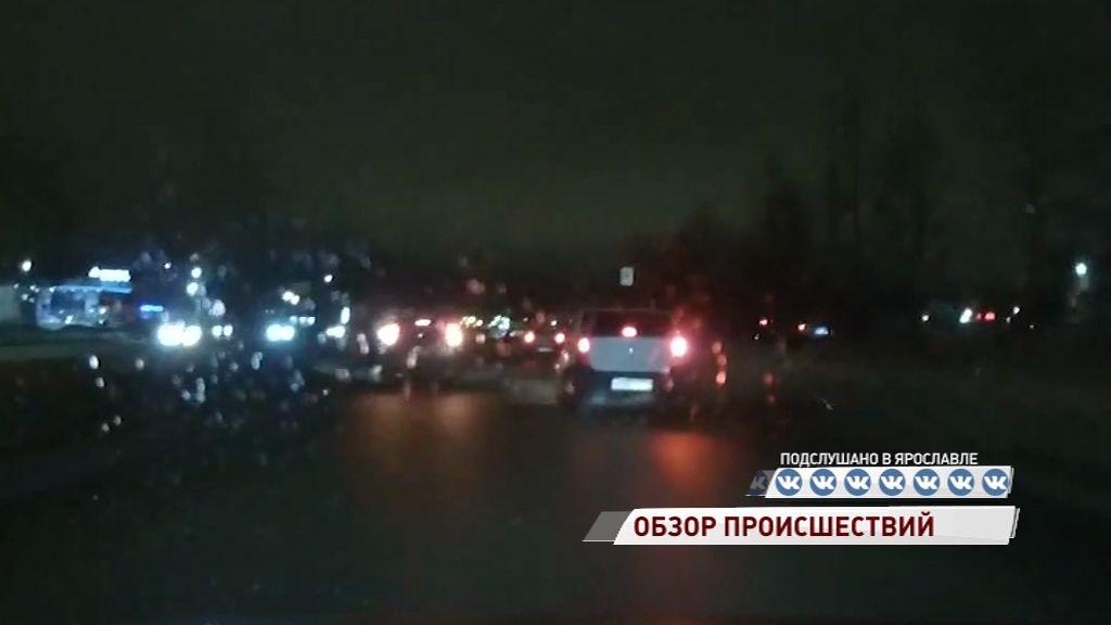 В Брагине ярославец попал под колеса иномарки