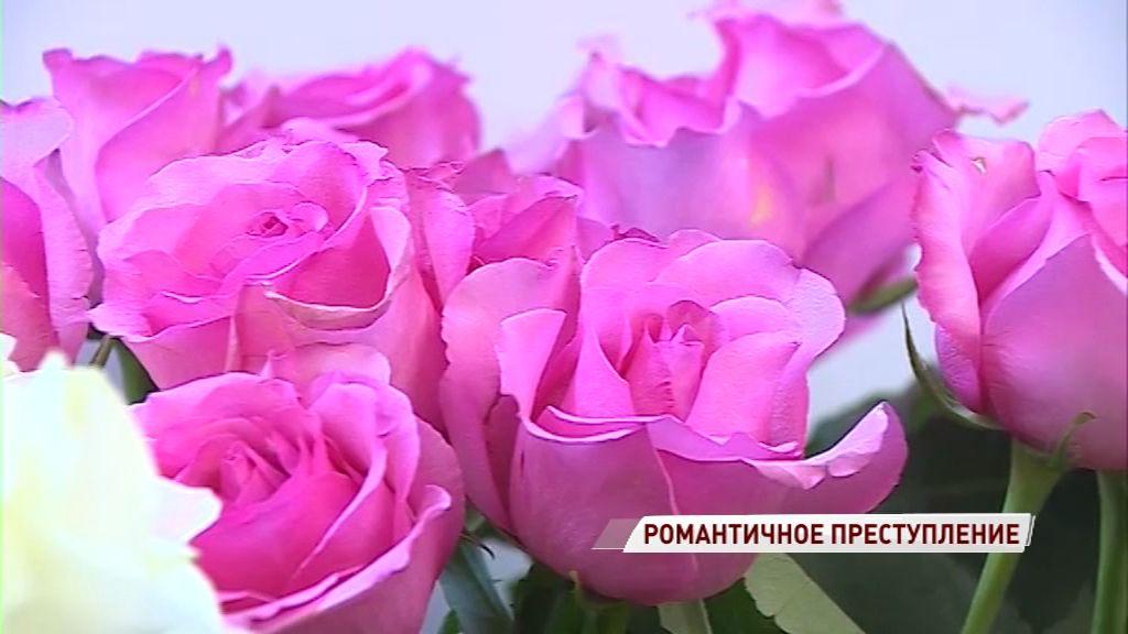 Тутаевский Ромео украл букет из цветочного магазина, чтобы порадовать свою девушку