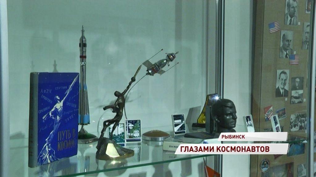 В Рыбинске открылась выставка, приуроченная к очередному полету Алексея Овчинина в космос