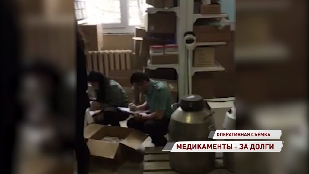 Судебные приставы арестовали шприцы, катетеры и бахилы