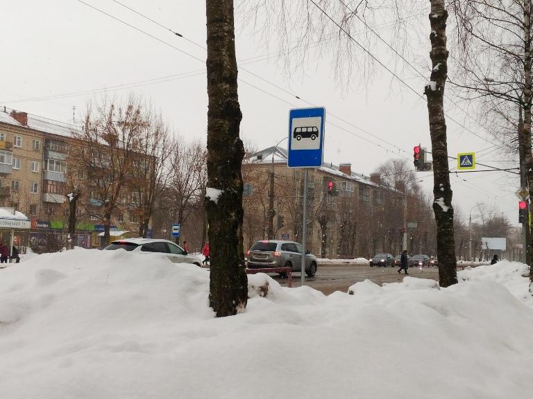 На проспекте Ленина в Рыбинске временно перенесут остановку