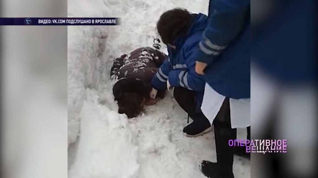 Пострадавшая от снежной лавины на Большой Октябрьской вышла из комы