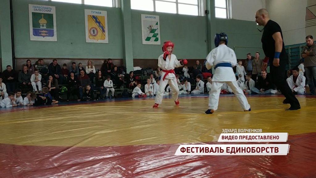 В Ярославле прошел фестиваль единоборств
