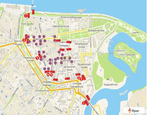 Масленица в городе: какие улицы перекроют в Ярославле в воскресенье
