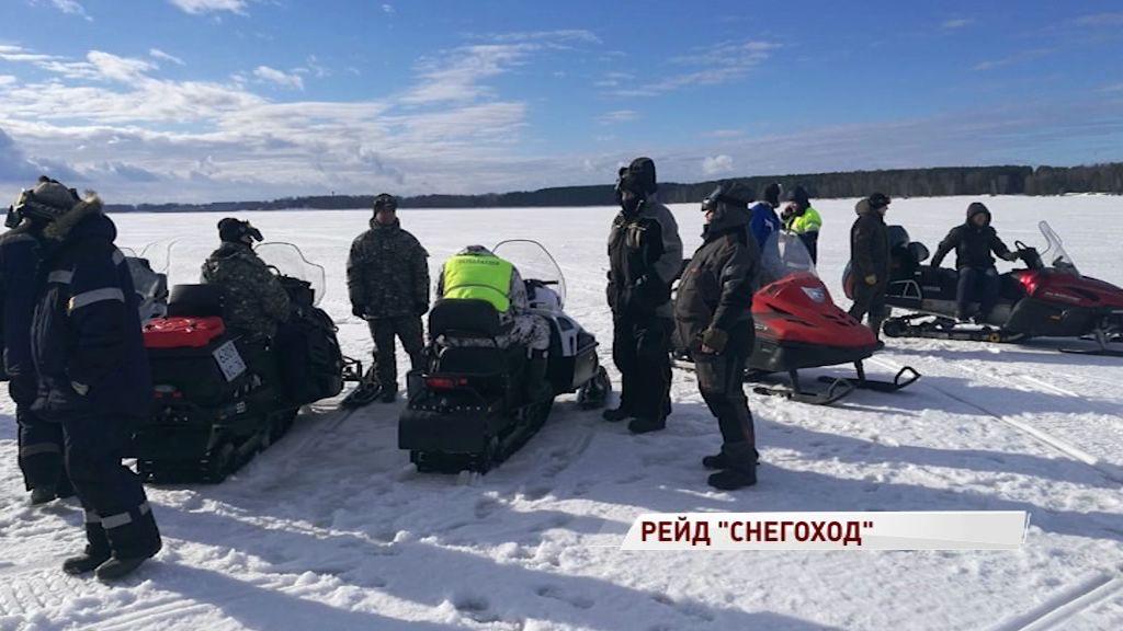 Инспекторы технадзора вышли в рейд по снегоходам