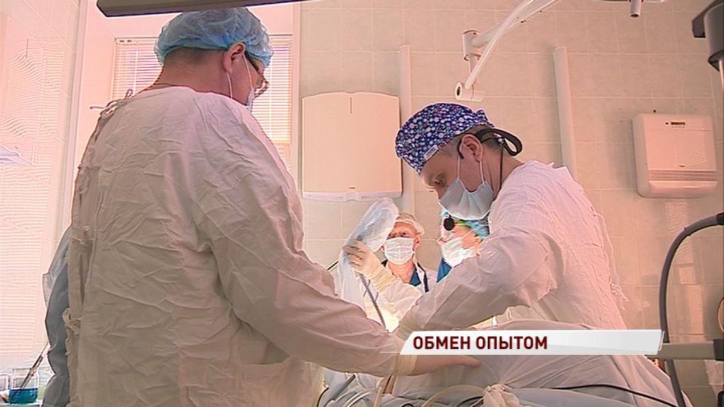 Ярославские хирурги обменялись опытом по удалению опухолей с коллегами из столицы