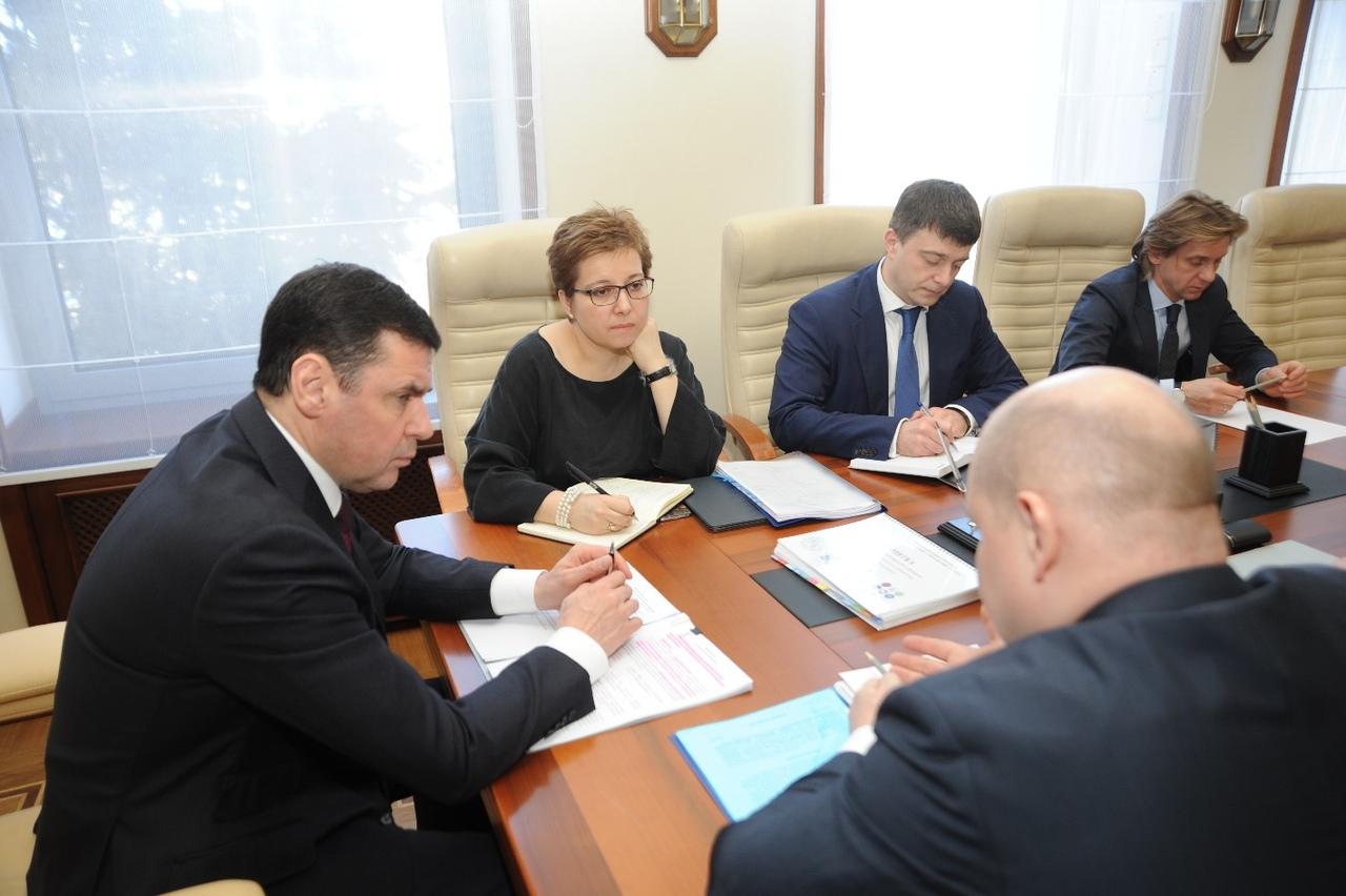 Дмитрий Миронов обсудил вопросы развития паллиативной помощи с Анной Федермессер