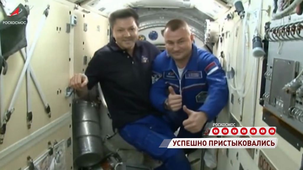 Рыбинский космонавт добрался до МКС