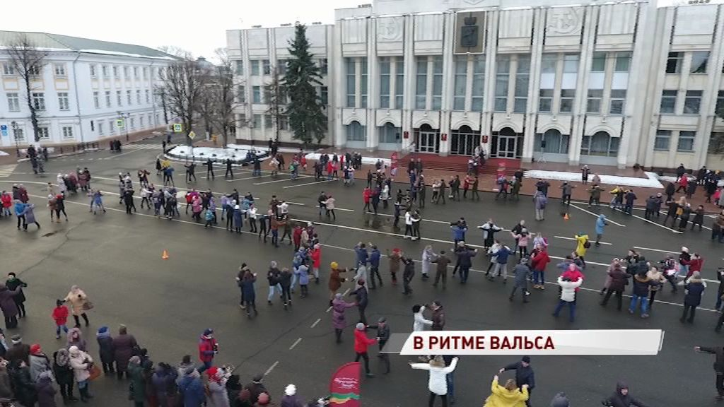 5-летие воссоединения Крыма встретили в ритме вальса