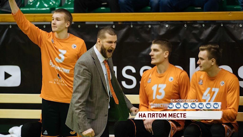 «Буревестник» занял пятое место в регулярном чемпионате Суперлиги